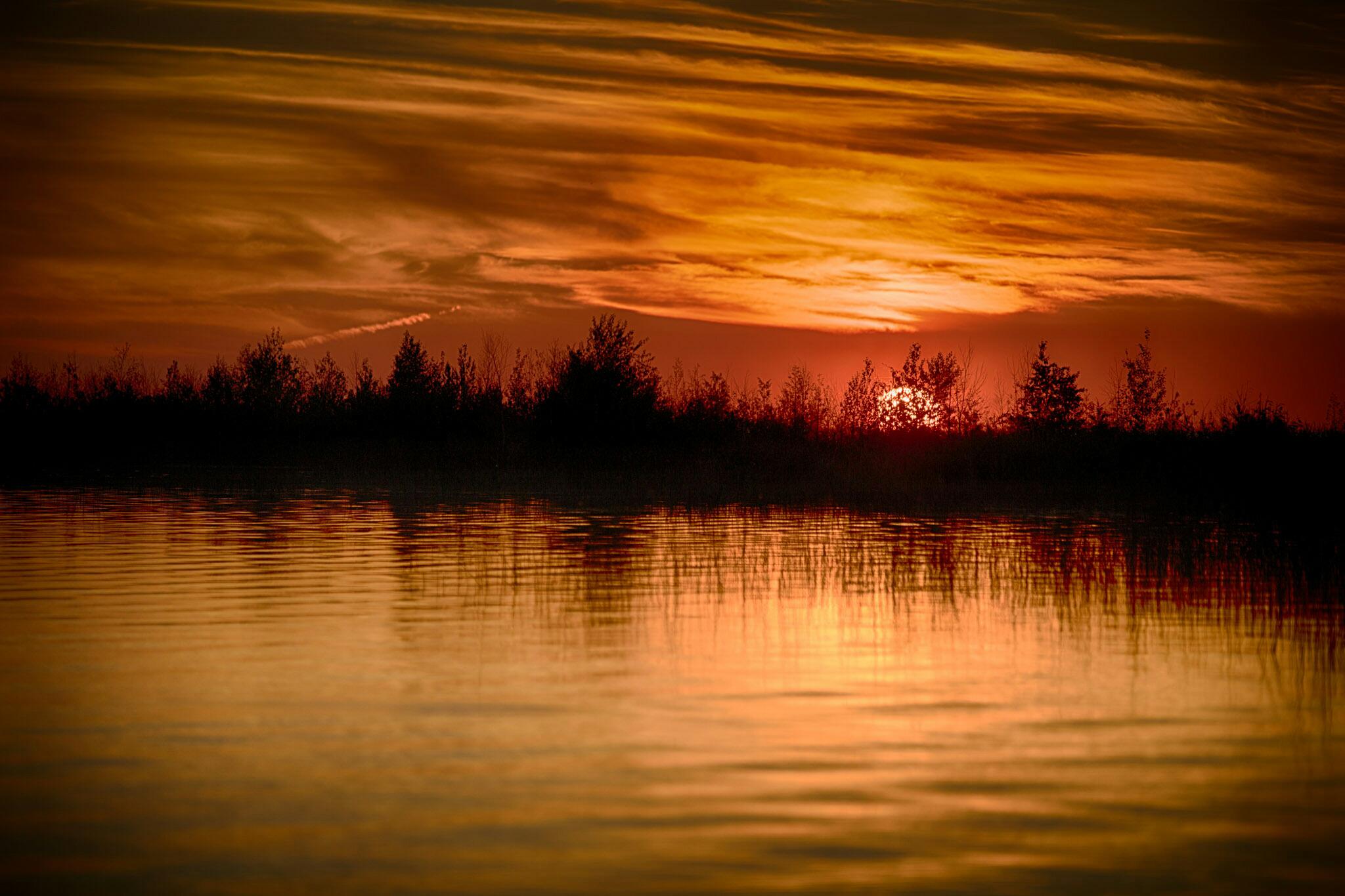 Jay Fisher Cross Quarter sunset