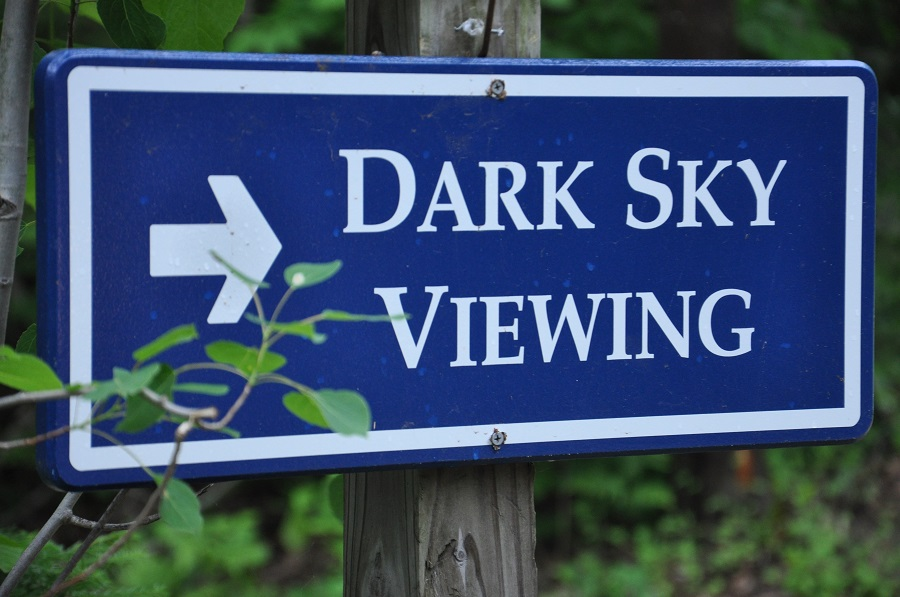 dark sky viewing