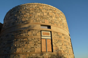 "The Observatory Tower at Headlands features an Ash Dome and 20"" PlaneWave Telescope on sneak preview during Statewide Astronomy Night April 7, 2017"